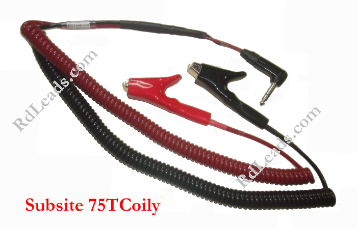 Subsite 75T Coily Cord Leads