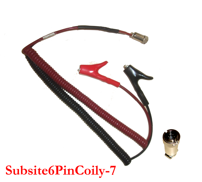 Subsite 910 Coily Cord Leads