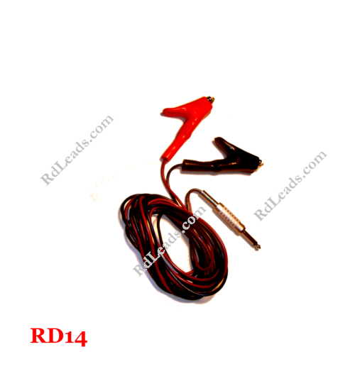 1/4 in Phone Plug Leads